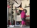 Даниелла Мело - присед 184 кг на 3 повтора