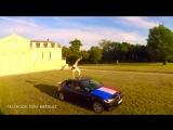 Флай на крыше машины