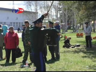 В нашем городе прошел первый фестиваль-конкурс самобытной Казачьей культуры «Казачья удаль»