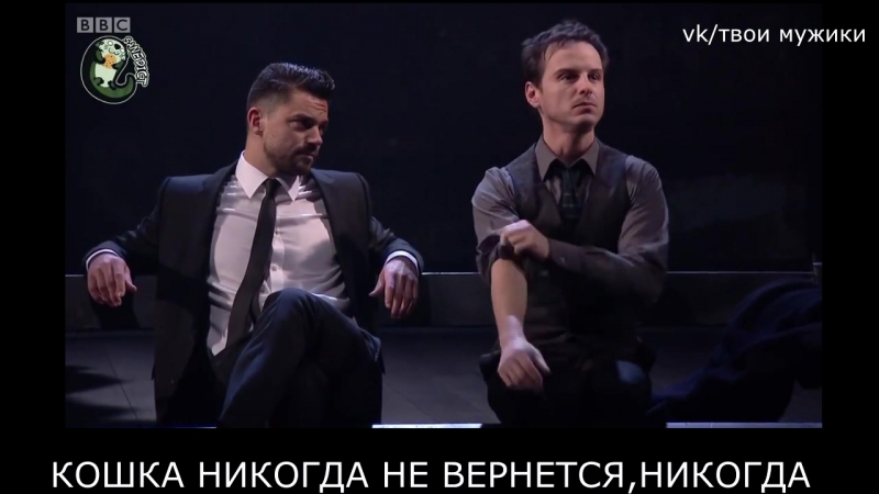 Andrew Scott Dominic Cooper Angels In America (русские субтитры)