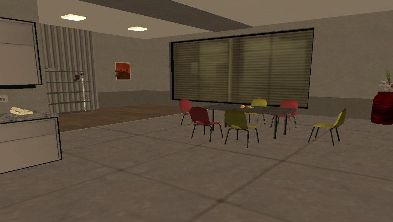 [Маппинг] Интерьер квартиры Автор: The Free Company  FO2UcDxSbAc