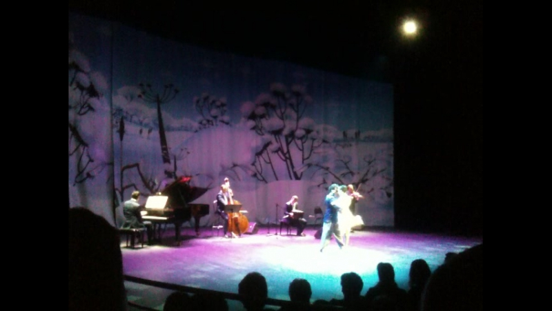 Зимнее танго - Концерт открытия IV фестиваля танго Moscow Tango Holidays