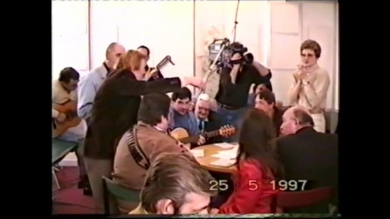 Александр Волокитин на Гавани в Останкино - ТЁТЯ ХАЯ (ЁЗЕФ) (Видеосъёмка Я.Браславского, 25.05.1997)