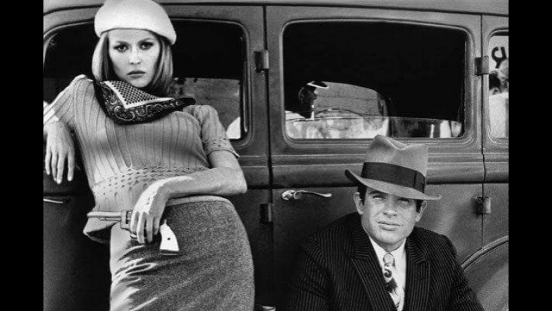 Бонни и Клайд - Bonnie and Clyde /1967 - Финальная сцена