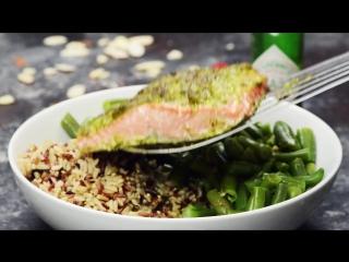 Salmon Pesto