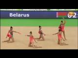 Групповое Упражнение(Сеньорки)(3 МЯЧА+СКАКАЛКИ)(КМ Гвадалахара 2017)(Многоборье)