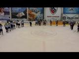 Часть 3 Девятый тур открытого первенства города ТХЛ сезон 2016-2017 в дивизионе Дебютант ХК ВА ВКО 1 - 6 ХК Бумажник
