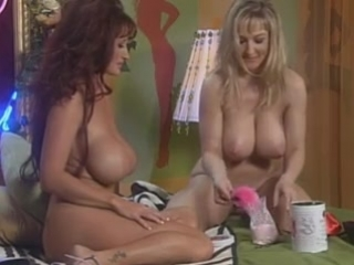 Danni Ashe in bed with Brittany Love