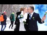 Чудесная зимняя прогулка Владимира и Ксении!!!