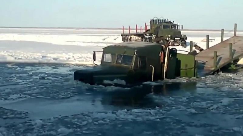 Ледяные дороги Якутии