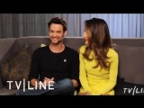 Maggie Q Shane West II Interview with TVLine - Comic Con 2011