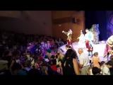 Вот таким радостными лицами детей и громкими аплодисментами завершился второй день премьеры мюзикла