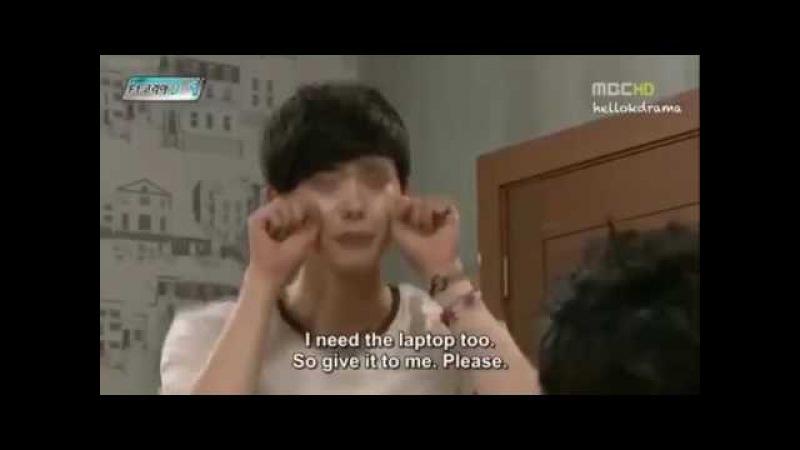 Eng sub Lee jongsuk'aegyo cute moment in high kick 3