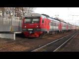 Электропоезд ЭД4М-0472 платформа Опалиха