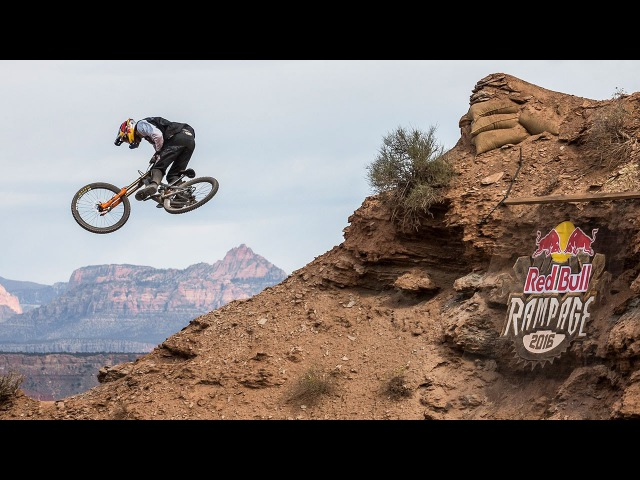 Thomas Genon's Fast and Flowy Line from Red Bull Rampage 2016