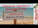 Смешные надписи ценники и объявления 12 Funny tags and ads 12