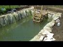 Искусственный пруд своими руками для разведения рыбы Часть 2
