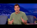 Adam Sandler Really Wants To See Shaq's Junk CONAN on TBS