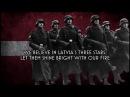 Zem Mūsu Kājām - Anthem of the Latvian SS Divisions