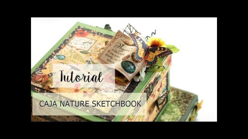 Tutorial Caja 3D Nature Sketchbook G45