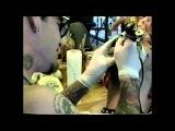 GG Allin After Hours — ДжиДжи набивает татуху MJ на голову (Santa Barbara, CA)