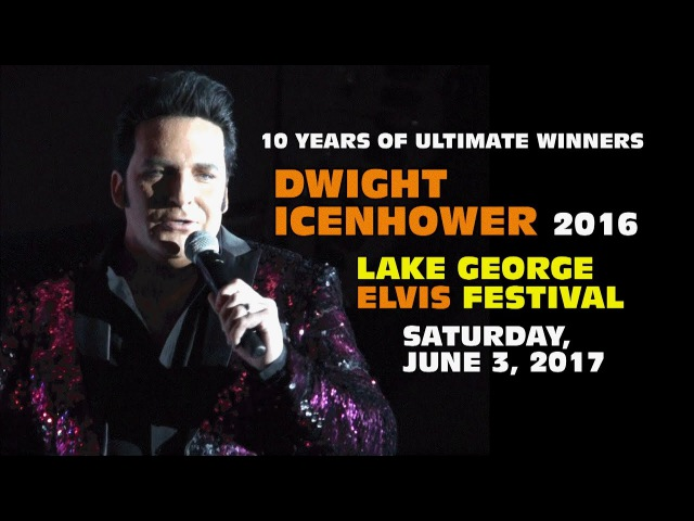 Ultimate Winner Dwight Icenhower - Lake George Elvis Festival