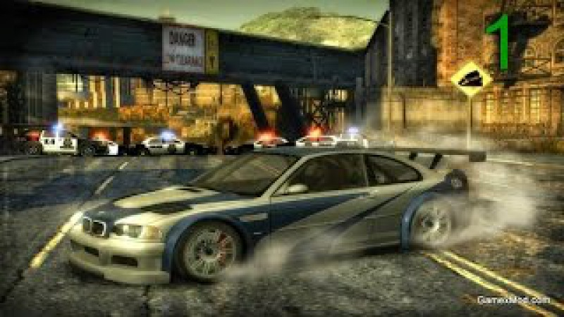 ►Need for Sped Most Wanted2005 ― Часть 1 Украли BMW!
