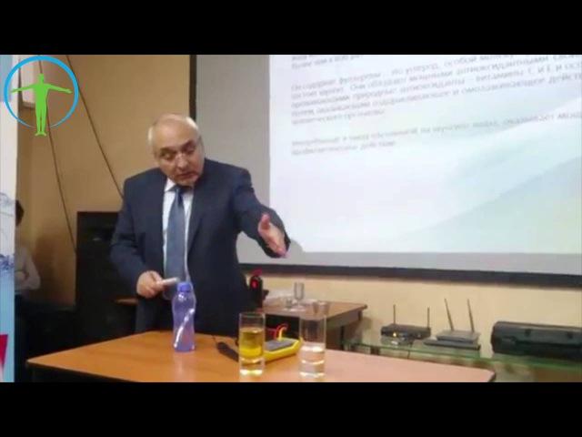 Профессор Хачатрян Ашот Папикович о Минеральной палочке «Акваспектр Минерал»