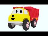 Давайте учить цифры фигуры цвета вместе с грузовичком Игорем, лучшим другом дин ...