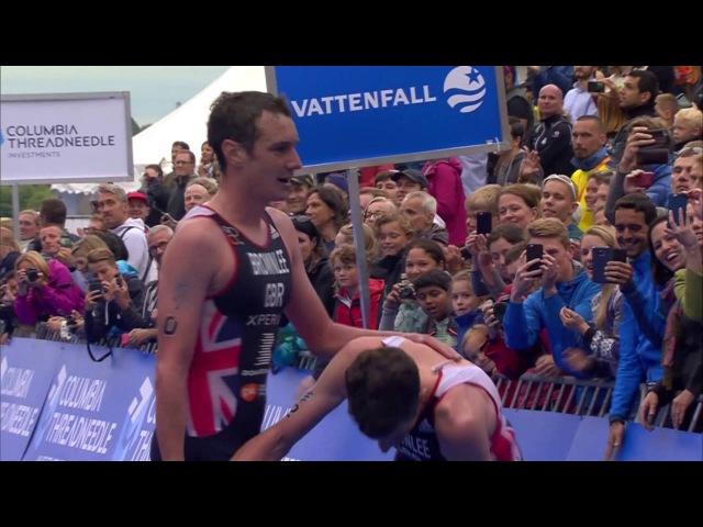 2016 Vattenfall World Triathlon Stockholm - Elite Men's Highlights