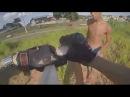Linha de pipa com cerol quase mata motociclista qual seria a sua reação