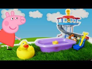 свинка пеппа игрушки рома и диана