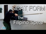 Spear Fighting Basics. Filipino Martial Arts  Kali  Arnis
