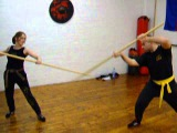 6ft Sibat Staff  FMA Eskrima-Kali-Arnis Kickfit Martial Arts Academy,Nottingham,UK