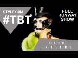 John Gallianos Fall 2000 Dior Couture Wedding - Full Runway Show - #TBT with Tim Blanks-Style.com