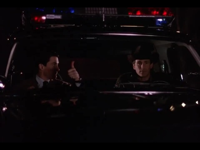 Thumbs up by Special Agent Dale Cooper