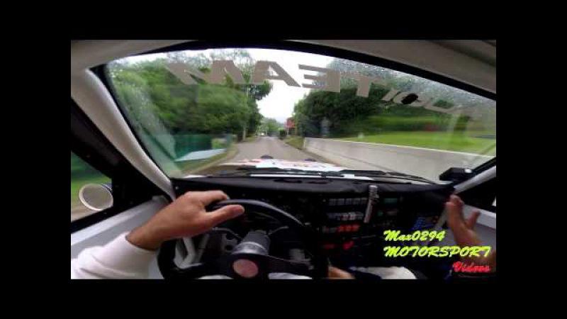 Driver's Eye onboard crash C Girod C Arregui Audi Sport Quattro Trasmiera 2015 TC6 Hermosa