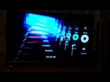 LG Кто нибудь такое видел? Что за эффект в телевизоре??