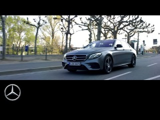 The new E-Class. On a perfect mile – Mercedes-Benz original