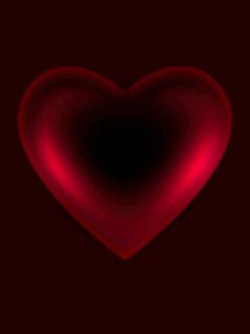 Гифка бьющееся сердце на черном фоне