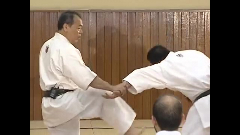 Saifa _ Goju ryu _ Kata no ura bunkai _ Yoshio Kuba