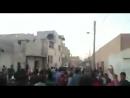 Местные жители вышли против Тахрир аш Шам ХТШ в г САРАКИБ в провинции Идлиб требуя от них покинуть город в ответ ХТШ открыли
