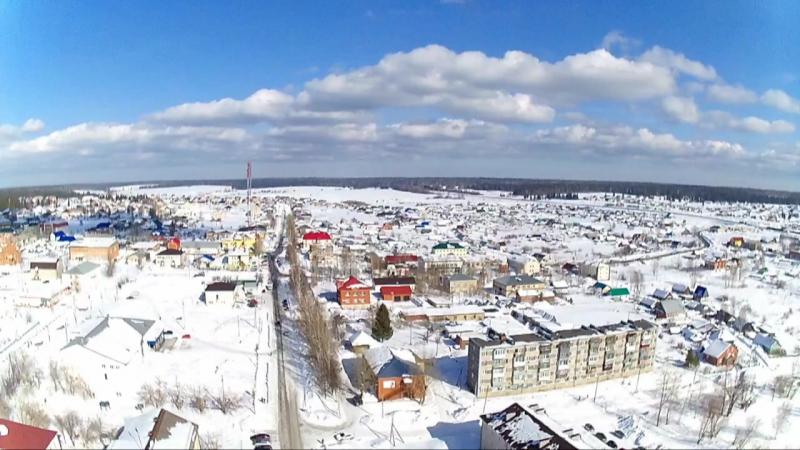 Поселок Октябрьский, Пермский край (2017 год)