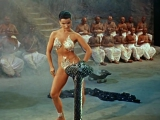 The Indian Tomb - Debra Paget - Snake Dance Scene - HD (k)