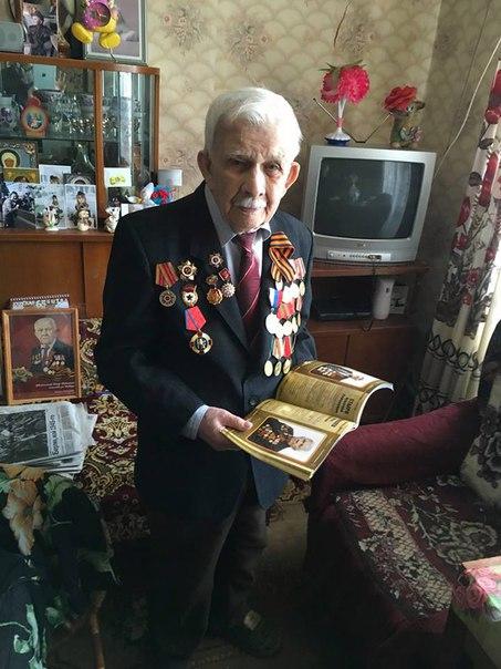 По уже сложившейся традиции Русфинанс Банк поздравил ветеранов Великой