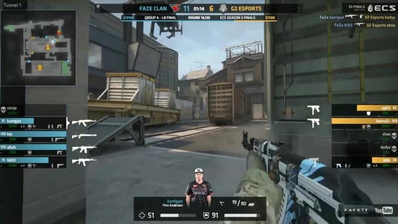 NiKo 3k on the defense