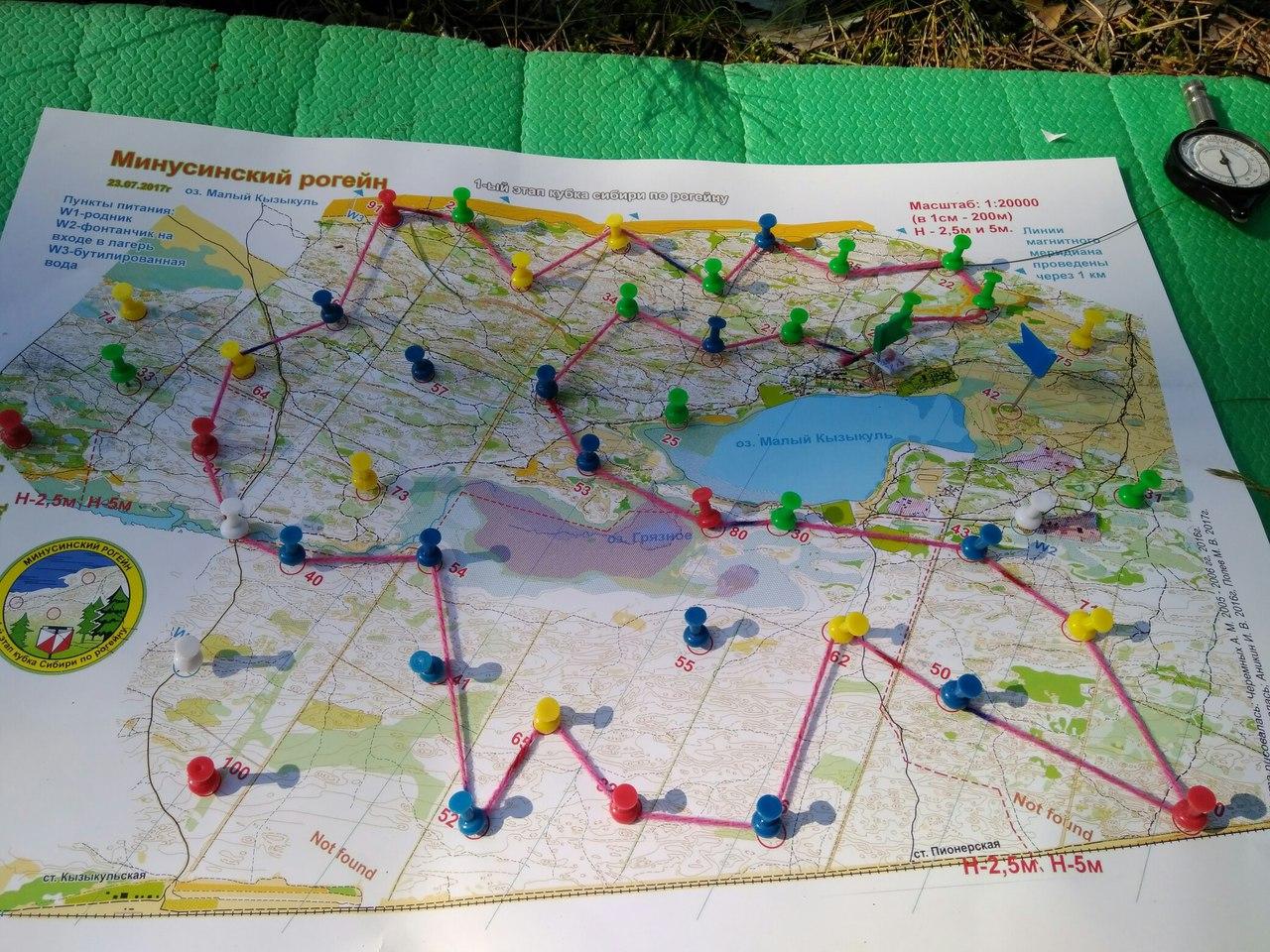Один из вариантов планирования маршрута. Но мы выбрали другой.