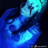 Меловые краски светятся при ультрафиолете