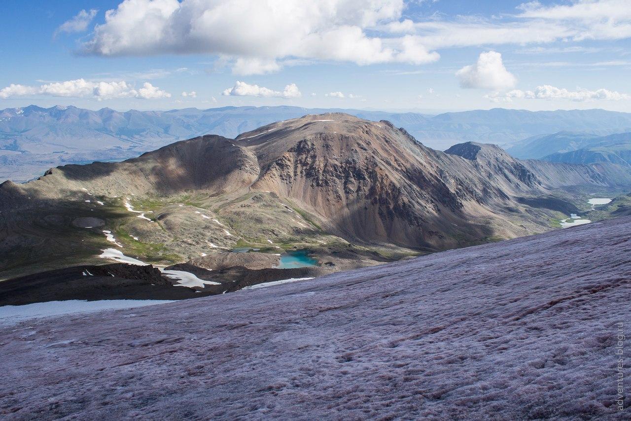 Три озера на склонах Купола