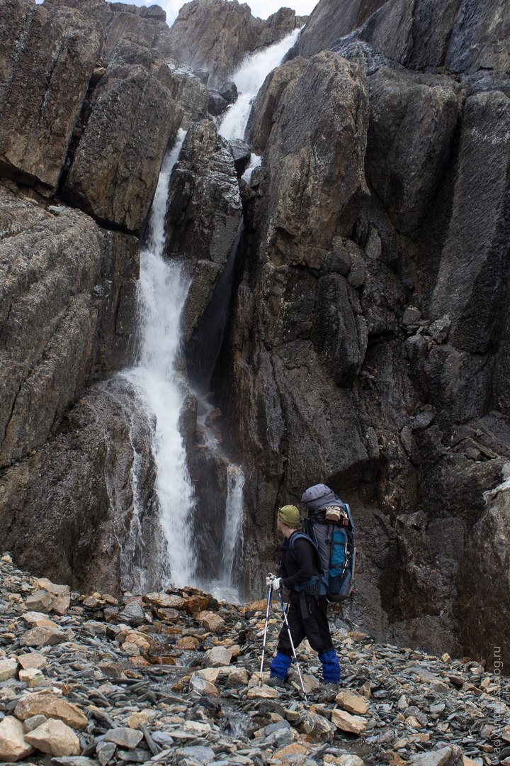 Водопад ручья Туроюк